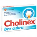 CHOLINEX BEZ CUKRU 16 PASTYLEK
