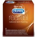 DUREX REAL FEEL 3 SZT. Prezerwatywy